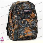Молодежный рюкзак JanSport-111, 40х30х15см, наружный карман, уплотненная спинка, школьный рюкзак