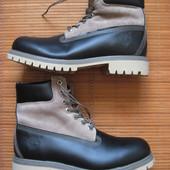 Как новые Timberland 6-Inch (42, 27 см) кожаные ботинки мужские