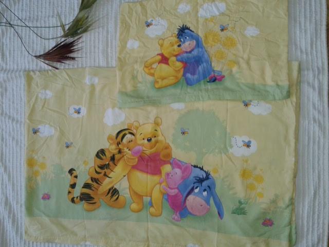 прикольный комплект постельного белья от Disney Winnie Pooh фото №1