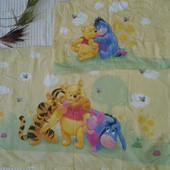 прикольный комплект постельного белья от Disney Winnie Pooh
