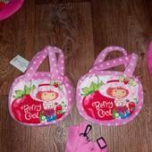 Детская плюшевая сумочка