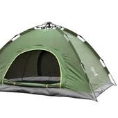 Палатка-автомат с автоматическим каркасом двухместная туристическая SY-A02: размер 2х1,5х1,1м