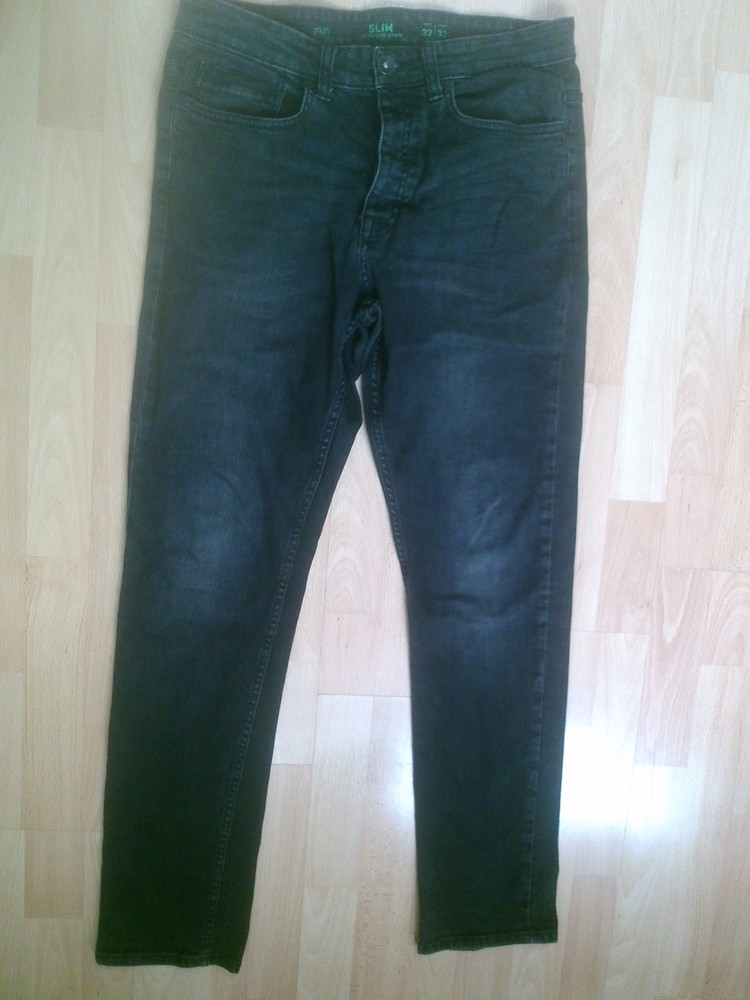 Фирменные джинсы слим 32 р. фото №1
