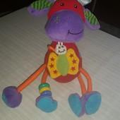 Развивающие игрушки Tolo (корова, лягушка, обезьяна и птичка)