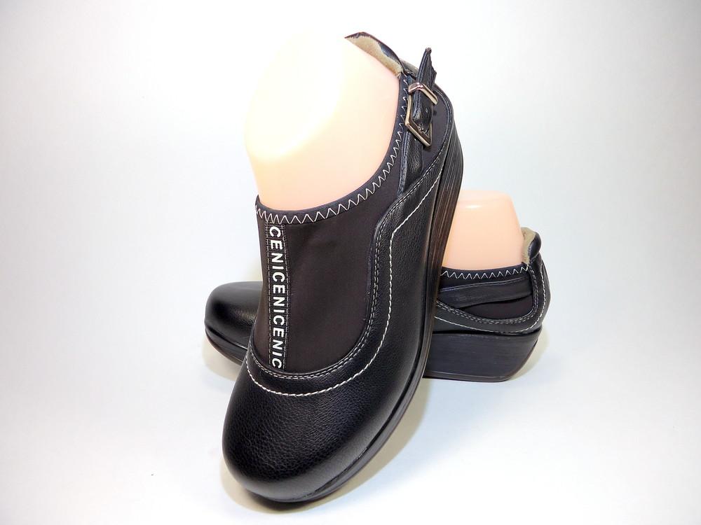 Туфли женские на танкетке, лёгкие, комфортные. размер 35-40. фото №1