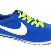 Спортивные замшевые кроссовки в стиле Nike (N-166)