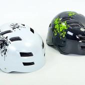Шлем для Вmx/Skating/Freestyle/экстремального спорта 01, 2 цвета: котелок, размер M-L