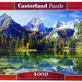 Пазлы 4000 Озеро в горах Majesty of the Mauntains c-400065 castorland касторленд Польша