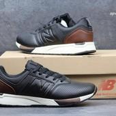Кроссовки  New Balance 247   чорні з бежевим\коричневим