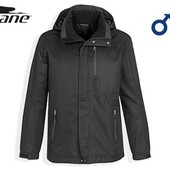 Модная мужская деми куртка ветровка Crane M 48/50 цвет черный Германия