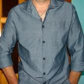 Брендовая стильная рубашка Denim Co (Деним Ко). л .