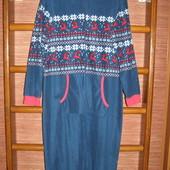 Пижама флисовая, размер S,рост до 175 см