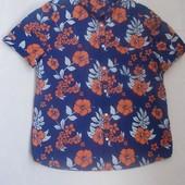 Рубашка-тенниска, размер L, 100% хлопок