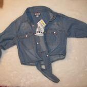 Джинсовая рубашка Bizzy, 134 см