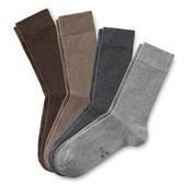 носки, Германия, размер 41-43, серые, tcm, tchibo