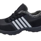 Спортивные зимние ботинки с меховым утеплителем (П-251)