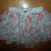 F&F стильная юбка-пачка на девочку 6-7 лет