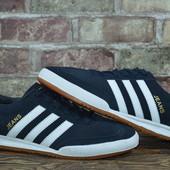 Мужские замшевые кроссовки Adidas Gazelle,