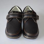 Туфли на липучке школа 17-3