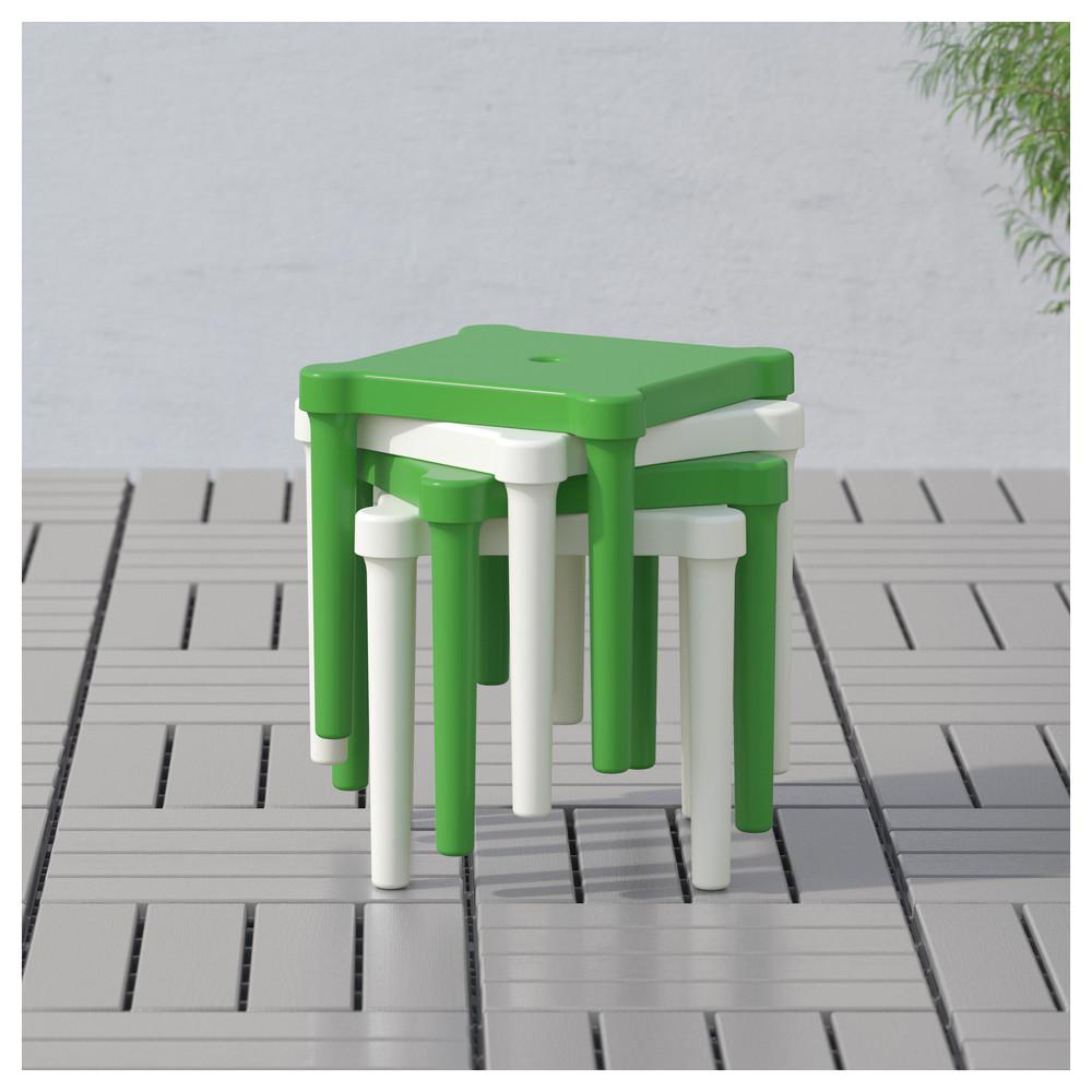 Табурет детский, д/дома/улицы, зеленый Икеа Уттер, 203.577.77 Utter Ikea В наличии! фото №1