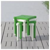 Табурет детский, д/дома/улицы, зеленый Икеа Уттер, 203.577.77 Utter Ikea В наличии!