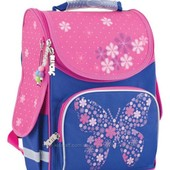 Рюкзак Smart 553326 каркасный PG-11 Flower butterfy
