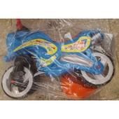 Каталка Мотоцикл с каской 2 цветов Кв 11-007