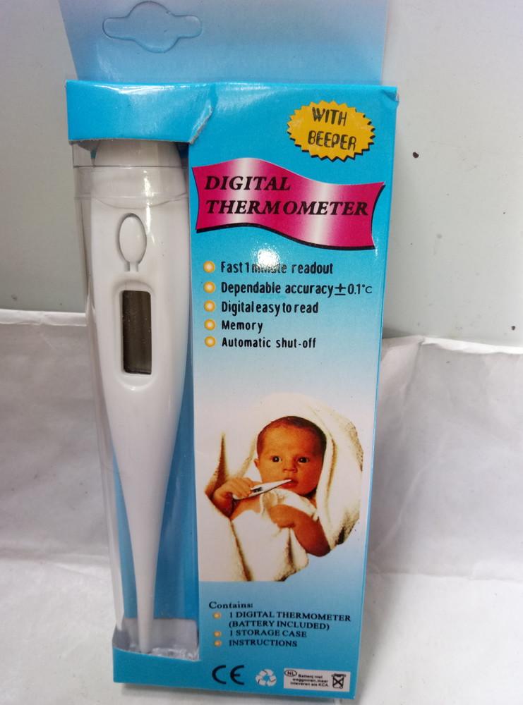 Электронный термометр детский с датчиком фото №1