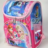 Школьный каркасный рюкзак для девочек Frozen розовый 3426
