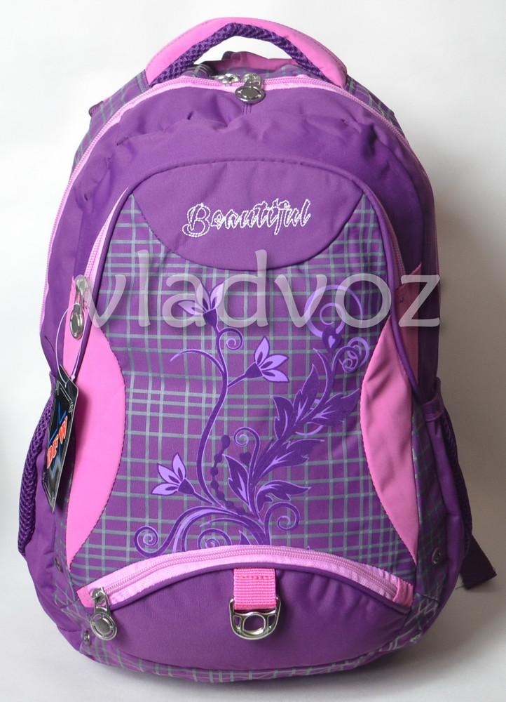 Рюкзак для девочки подростка dfw фиолетовый 3389 фото №1