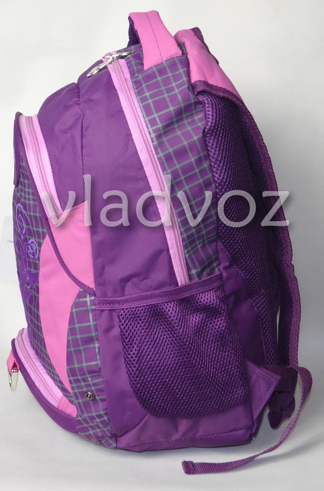 Рюкзак для девочки подростка dfw фиолетовый 3389 фото №2
