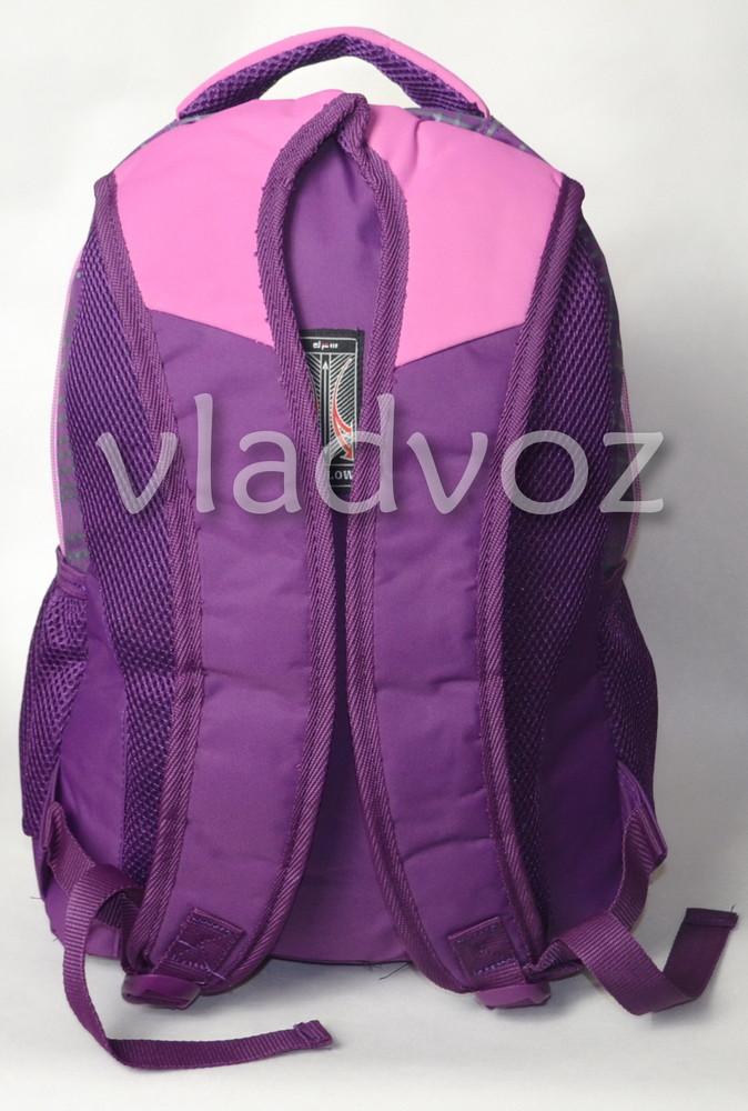 Рюкзак для девочки подростка dfw фиолетовый 3389 фото №3