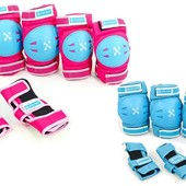 Комплект детской защиты 3в1 Zelart 3504, 2 цвета: размер S/М (3-7 лет/8-12 лет)
