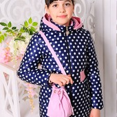 Куртка+сумка «Валерия» Размеры: 32 — 38