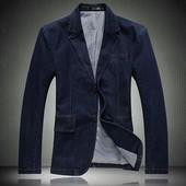 Джинсовый пиджак мужской М,Л,ХЛ (2з