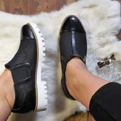 Стильные женские туфли, 40 р - 26 см.