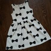 платье H&M  6-8 лет  рост 122-128 см