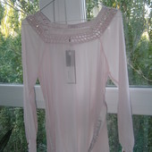 Mamalicious новая шифоновая блуза для беременных M-размер
