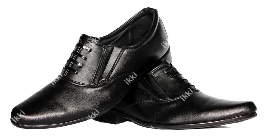 42 и 43 р Классические мужские туфли на резинку Львовской фабрики (БК-04) фото №1