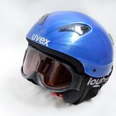Горнолыжный шлем Unex. Размер 56 S. Очки в подарок