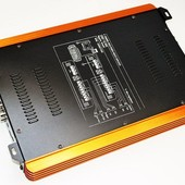 Автомобильный усилитель звука ukc riot p4800.4 4000вт 4-х канальный