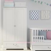 Шкаф бельевой Ines White