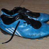 Adidas f10 бутсы 41р буцы шиповки, копы бампы.Wide fit