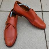 Туфли монки Gibson & Gibson р-р. 43.5-44-й (28.7 см) Италия