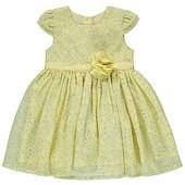 Платье нарядное фирмы George на 3-4 г.