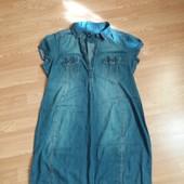 Джинсовое платье для беременной от H&M (XL)