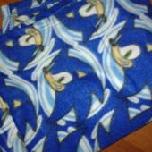 флисовое одеяло плед с рукавами с Соник Бум. есть 2 шт.