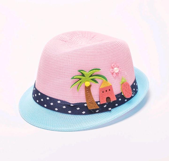 Стильная детская летняя шляпа, 3 цвета, новая фото №1