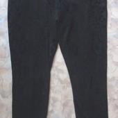 Лосины черные 48 с принтом