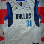 Спортивная фирменная баскетбольная  майка Adidas Dallas.л .